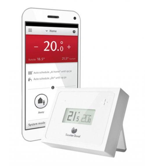 Caldera de condensación para el hogar -Migo Wifi - Saunier Duval - Termostato modulante - Electro-Gama - Electrodomesticos de calidad en Castelldefels - Barcelona