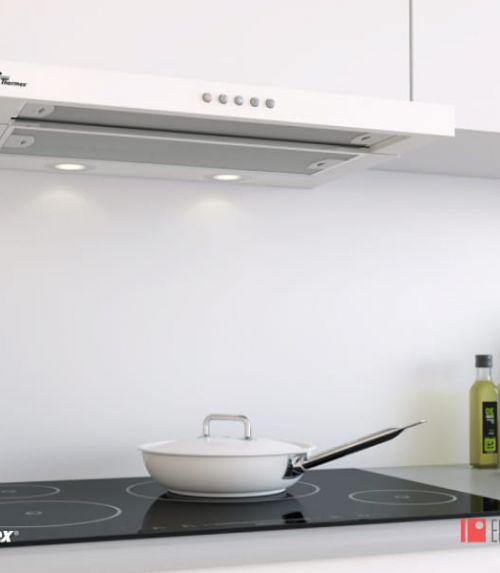 Campana Extractora - Grupo Filtrante Super Silent Extraíble Blanco - Electro Gama - Electrodomésticos de Calidad en Castelldefels Barcelona España